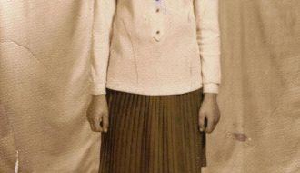 Роза – ученица Сигневичской восьмилетней школы.