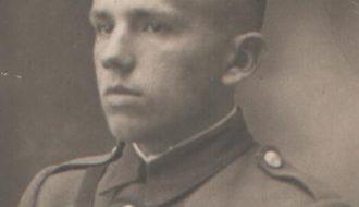 Мікалай Максімавіч Бярынчык. Фота 1944 года.